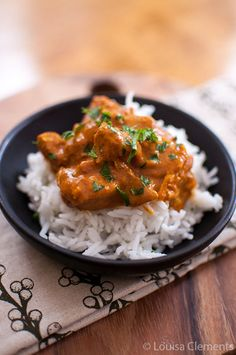 Living Lou | Slow Cooker Butter Chicken