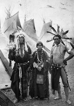 Strong Eagle, Simon Silas and a Spokane woman