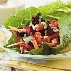 Find more healthy and delicious diabetes-friendly recipes like Veggie Lettuce Roll on Diabetes Forecast®, the Healthy Living Magazine.