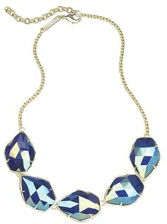 Connely Necklace in Iridescent Cobalt