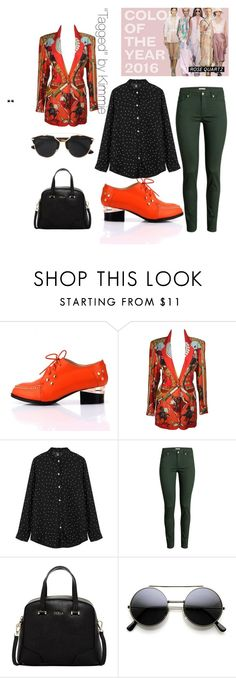 """""""Untitled #187"""" by taggedbykimmie15 on Polyvore featuring Hermès, H&M, Furla, Christian Dior, women's clothing, women's fashion, women, female, woman and misses"""