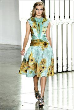 Rodarte & Van Gogh-- I want this dress