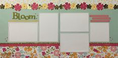 jd designs: Damask Divas' Close to My Heart (CTMH) Happy Times Blog Hop -- Bloom Where You're Planted double-page layout SHOP NOW: jddesigns.ctmh.com