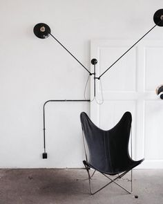 Looking for black wall lights? I'm rounding up 20 of the BEST ranging from budget to blow-out, reissued design classics and contemporary lamps. Black Wall Lights, Interior Design Living Room, Room Interior, Nordic Interior, Best Black, Contemporary Lamps, Butterfly Chair, Black Walls, Best Budget