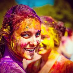 Holi Festival, India. Summer Welcome.