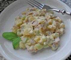 7 - Tassen - Salat, ein leckeres Rezept mit Bild aus der Kategorie Schnell und einfach. 77 Bewertungen: Ø 4,1. Tags: Eier oder Käse, einfach, Fleisch, Gemüse, Kartoffel, Party, Salat, Schnell