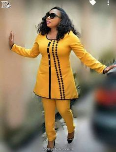 Must Have Trendy Africa Styles For Ladies - Reny styles Couples African Outfits, African Clothing For Men, African Shirts, Latest African Fashion Dresses, African Dresses For Women, African Print Dresses, African Print Fashion, Africa Fashion, African Attire