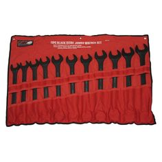 Grand Rapids Industrial Products Jumbo Combination MM Wrench Set (11-Piece)