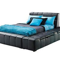 Zoey Black Full Storage Bed