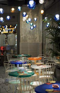 Tickets Tapas Bar, Barcelona designed by El Equipo Creativo