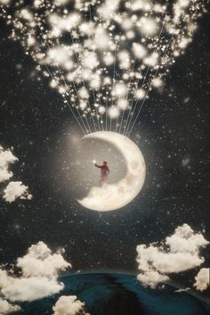The Big Journey of the Man on the Moon by Paula Belle Flores