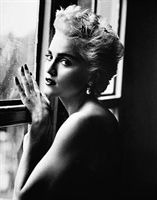 Herb Ritts: Madonna (at Window), NYC, 1986