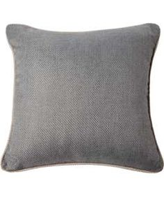 Heart of House Hudson Textured Cushion - Charcoal.