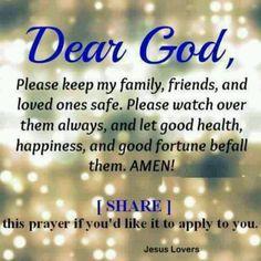 Dear God:
