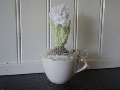 Crocheted Hyacinth - FREE Crochet Pattern and Tutorial