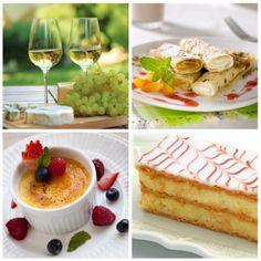 Ranskalainen ruoka 1. Ranskassa syödään juustoja enemmän kuin missään muualla maailmassa. Tunnetuimpia juustoja ovat valko- ja sinihomejuustot kuten Brie ja Roquefort. Juustoja syödään joka aterialla ja niiden kanssa syödään leipää. 2. Crepekset ovat suosittuja makeita ja suolaisia täytettyjä lettuja. Ne ovat herkullisia! 3. Creme brulee on annos ihanan pehmeää ja paksua vaniljakiisseliä, jonka päällä on kova kerros karamelisoitua sokeria. 4. Mille-feuille on tunnettu leivos, joka koostuu…