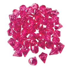 Hot Pink Gems - OrientalTrading.com There are many more colors including black