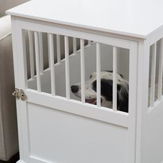 fancy dog crates furniture. #dog Crate Furniture, End Table, #decorative Dog Crates, #furniture Kennel Crates That Look Like Furnit\u2026 Fancy Furniture