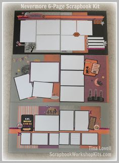 Scrapbooking Kits: Consultant Cutting Guides