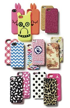 Cute iPhone 5 cases.