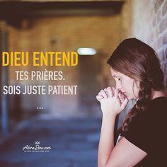 Dieu entend nos prières