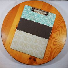 Custom Decorated Clipboards, Personalized Clipboards, Clipboard, Clip Board, Wood Clipboard, Office Supplies, Teacher Gift, Office Organizer by LybelleCreations on Etsy