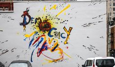 Juxtapoz Magazine - ArtWorks Cincinatti Teams Up With Ralph Steadman for 3 New Murals