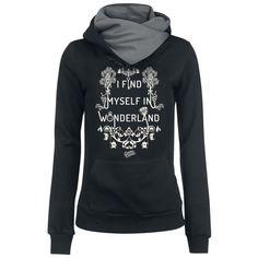 I Find Myself - Kapuzenpullover von Alice im Wunderland