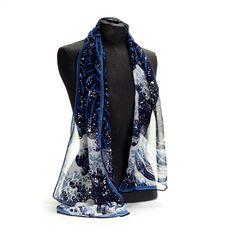 Fuji Wave scarf (British Museum exclusive) at British Museum shop online