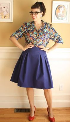 Gertie's New Blog for Better Sewing: The Rachel Outfit