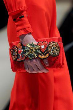 Moschino F/W 2013  haute couture handbag
