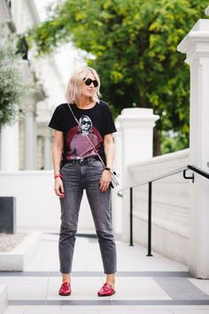 Street Style | Denim Days | Gucci Loafers | Jean Style |