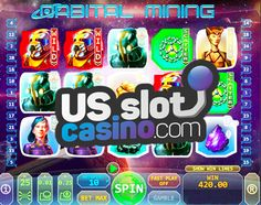 Honest Orbital Mining Slots Review At Top Game Casinos. Win Real #Cash #Money & #Bitcoins Playing Orbital Mining Slots At The Best USA Online Top Game Casinos.