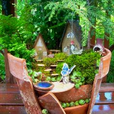 Fairy flower pot