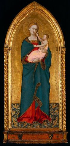 Standing Madonna with Child, Nardo di Cione