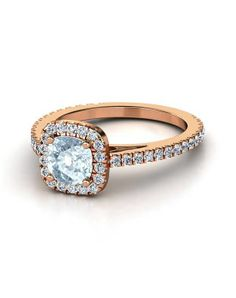 Antique Rose Gold Engagement Rings Pinterest 5