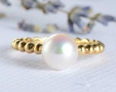 HANDMADE RINGS & BRIDAL SETS by MoissaniteRings on Etsy Bridal Ring Sets, Handmade Rings, Etsy Seller, Stud Earrings, Engagement Rings, Pearls, Merry, Jewelry, Fashion