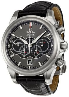 Omega DeVille Chronograph : 41mm : All I need is a Speedy, but this would do.