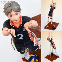 AmiAmi [Character & Hobby Shop] | Haikyuu!! - Players Series: Koshi Sugawara 1/8 Complete Figure(Released)