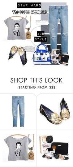 """Star Wars The Force Awakens"" by josselynne9725 ❤ liked on Polyvore featuring White House Black Market, Irregular Choice, Bare Escentuals and Loungefly"