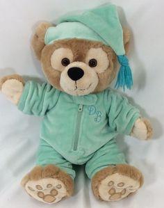 "13"" Hidden Mickey My First Duffy Bear Plush Pajamas Har Disney Parks"