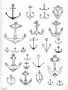i wanna get a wrap of anchors (every anchor different) around my ankle with a quote on the side of my foot!- don't like tattoos but love the idea