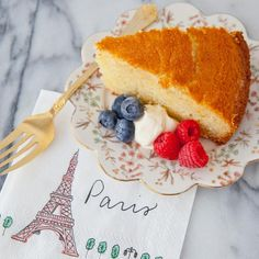 "How to Make French Yogurt Cake for Bastille Day: ""No Measure"" French Yogurt Cake"