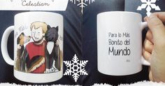 Qué bonitas son las tazas personalizadas! Son un regalo 10 para las parejas amigos familiares... para todos! http://ift.tt/1YjIbca #regalos #navidad #pinterest