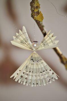 Angel, Julepynt, Juletræspynt, Weihnachtsdeko, Advent