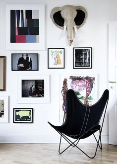 The Design Chaser: Elisabeth Heltoft | Refined Eclecticism. If you're looking for unique art photo prints to start your gallery wall, visit bx3foto.etsy.com