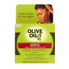 ORS Olive Oil Edge Control Hair Gel 63.8g ($4.79) ❤ liked on Polyvore featuring beauty products, haircare and hair care