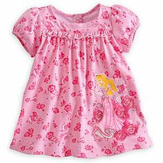 Disney Aurora Dress with Bodysuit for Baby | Disney StoreAurora Dress with Bodysuit for Baby - Your own Sleeping Beauty will love to wake up to this Aurora Dress with its all-over lace print. The Aurora appliqu� is surrounded by pretty pink embroidered flowers while underneath the dress is an attached bodysuit.