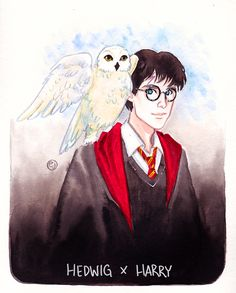 Harry Potter ♥ Furry Friends and Their Humans ♥ -- by inktober