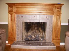 Image result for how to build a fireplace surround and mantle